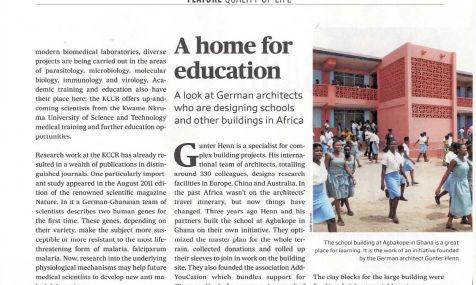 Ausschnitt des Beitrages in DE Magazin Deutschland