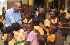 Rainer Sladek in Ghana