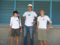 Christian Nörtemann,  Paula Arndt und Bianca Wiedersich